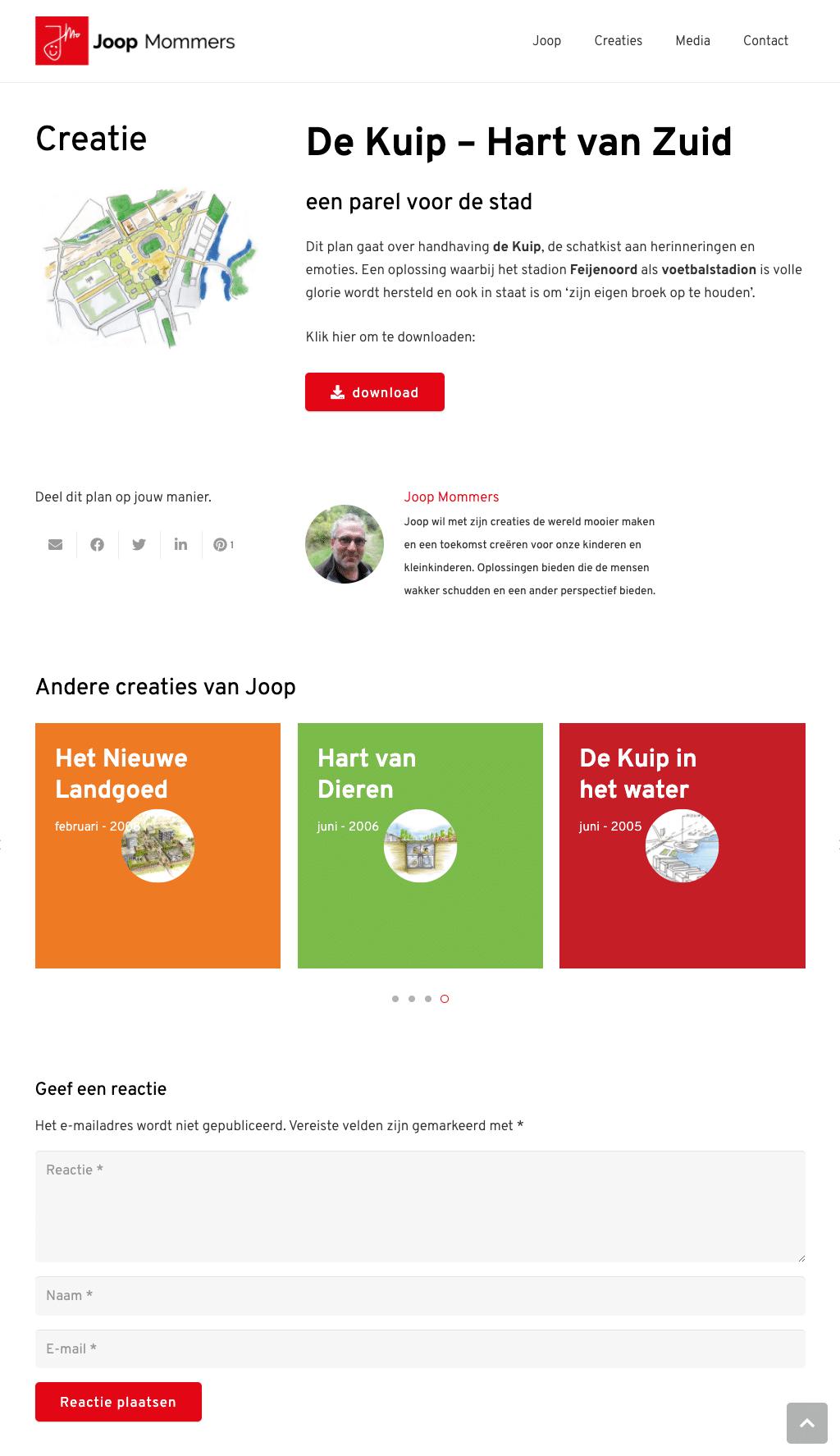 JM_Webpagina_de Kuip